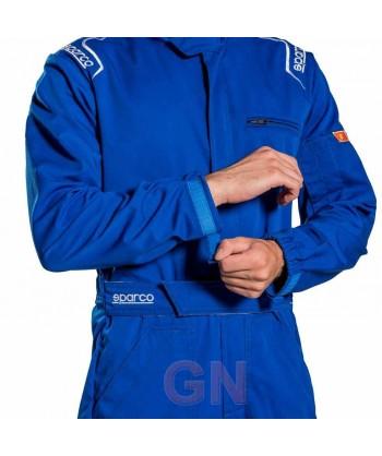 Buzo Sparco MS-3 para mecánico y pilotos de carreras ajuste en muñecas