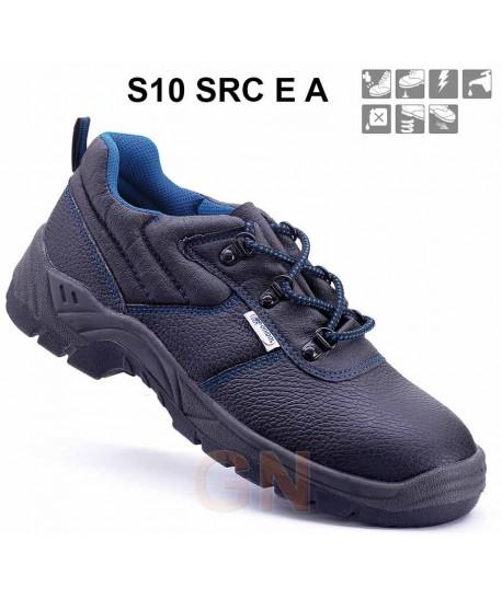 Zapato económico de seguridad en piel