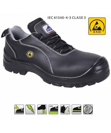 Zapato de seguridad no metálico y antiestático S1 ESD