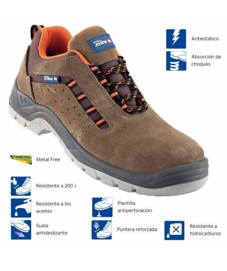 zapato trekking de seguridad S1P SRC E A