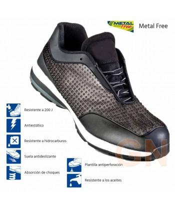 Zapato de seguridad reflectante en la oscuridad S1P SRC E A HRO
