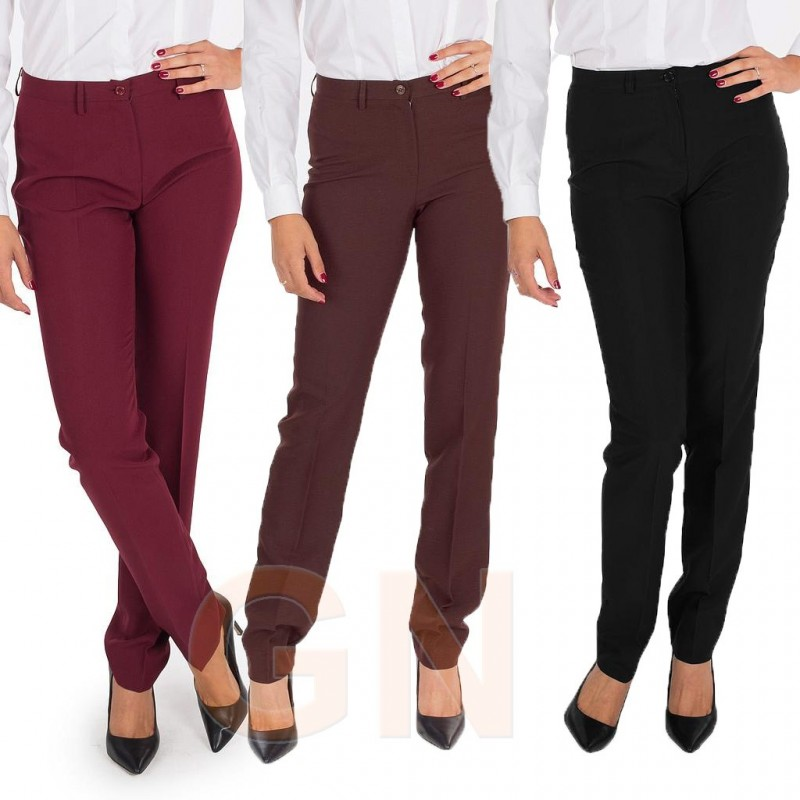Pantalon Sin Bolsillo De Mujer