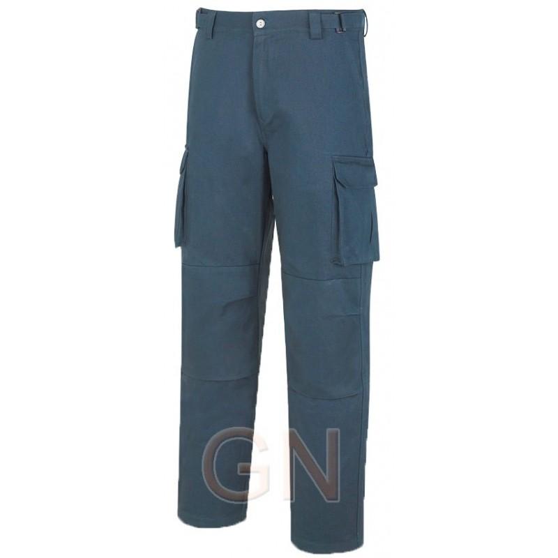 Pantalón multibolsillos de algodón con refuerzos