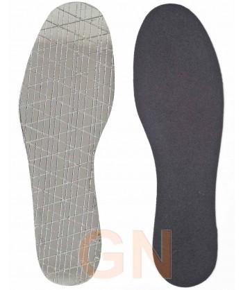 Plantilla térmica con lámina de aluminio