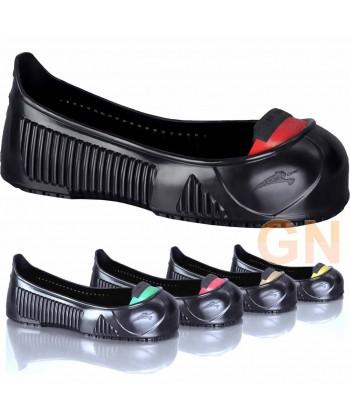 Cubre zapatos con puntera y plantilla de seguridad para visitas