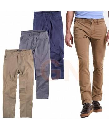 Pantalón bielástico tipo chinos