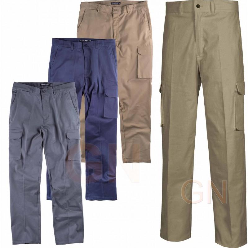 Pantalón multibolsillos bielástico tipo chinos