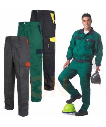 Pantalón multibolsillos con refuerzos muy grueso y resistente