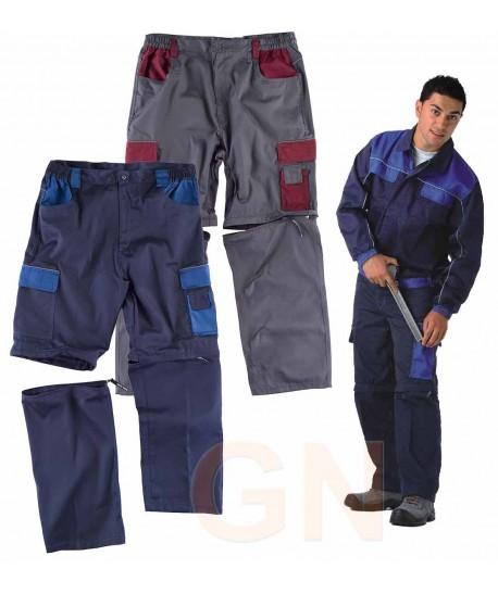 Pantalón desmontable con refuerzos y multibolsillos