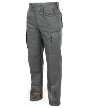 Pantalones multibolsillos con refuerzos. Muy fuertes grises