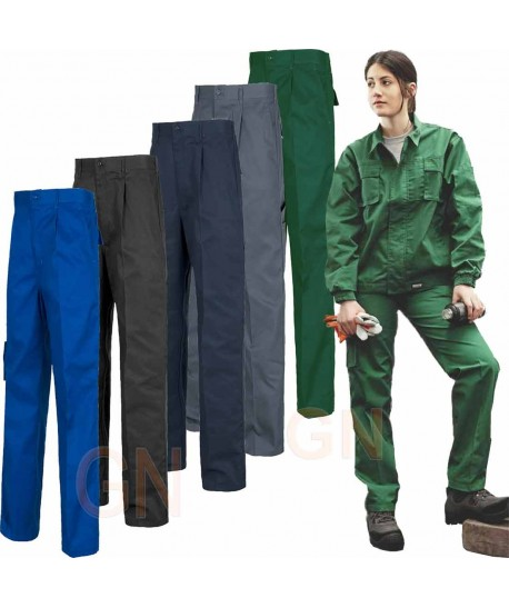 Pantalón multibolsillos triple costura muy fuertes