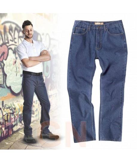 pantalón vaquero muy grueso y resistente