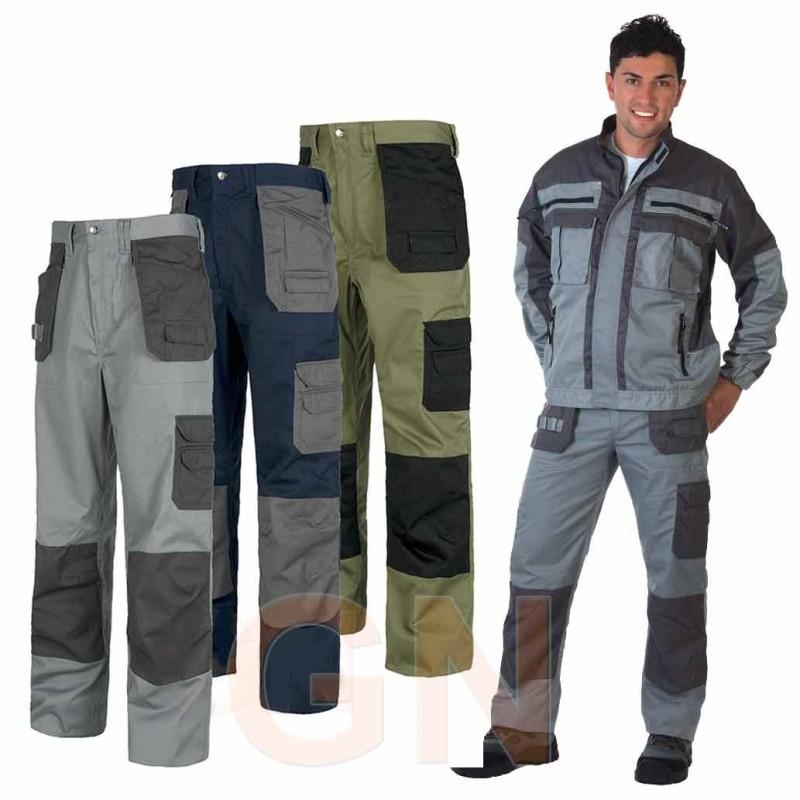 Pantalón multibolsillos de diseño moderno