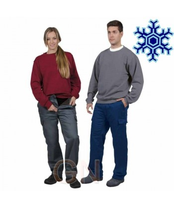 Pantalón forrado contra el frío