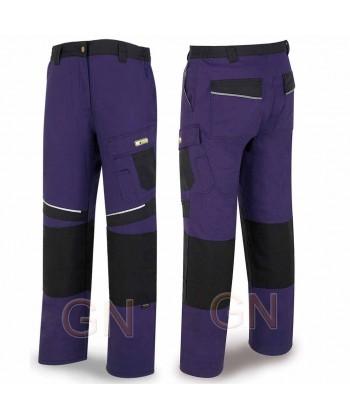 Pantalón multibolsillos con refuerzos de cordura marino/negro