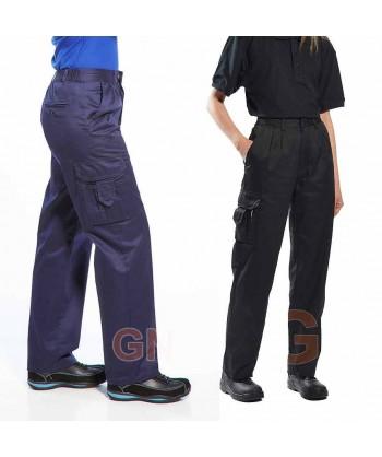 Pantalón multibolsillos de mujer