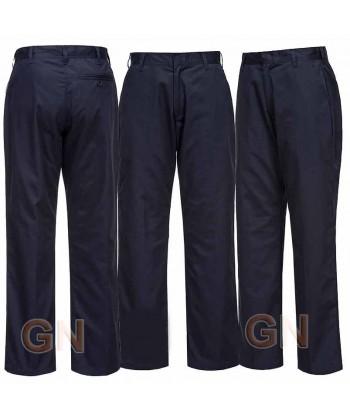 Pantalón de trabajo para mujer azul marino