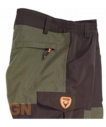 Pantalón sport impermeable con tejido Ripstop anti desgarros