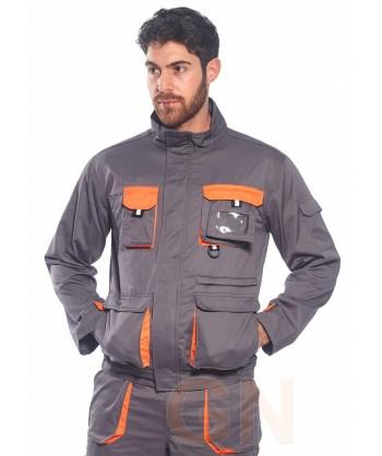 Pantalón combinado multibolsillos -Equipación completísima-