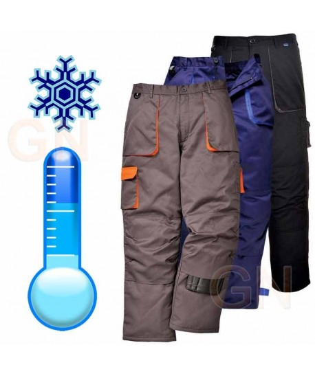 Pantalón multibolsillos con forro