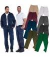 Pantalones multibolsillos con refuerzos