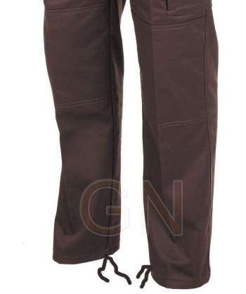 Pantalones multibolsillos con refuerzos. Muy fuertes ajuste en los bajos
