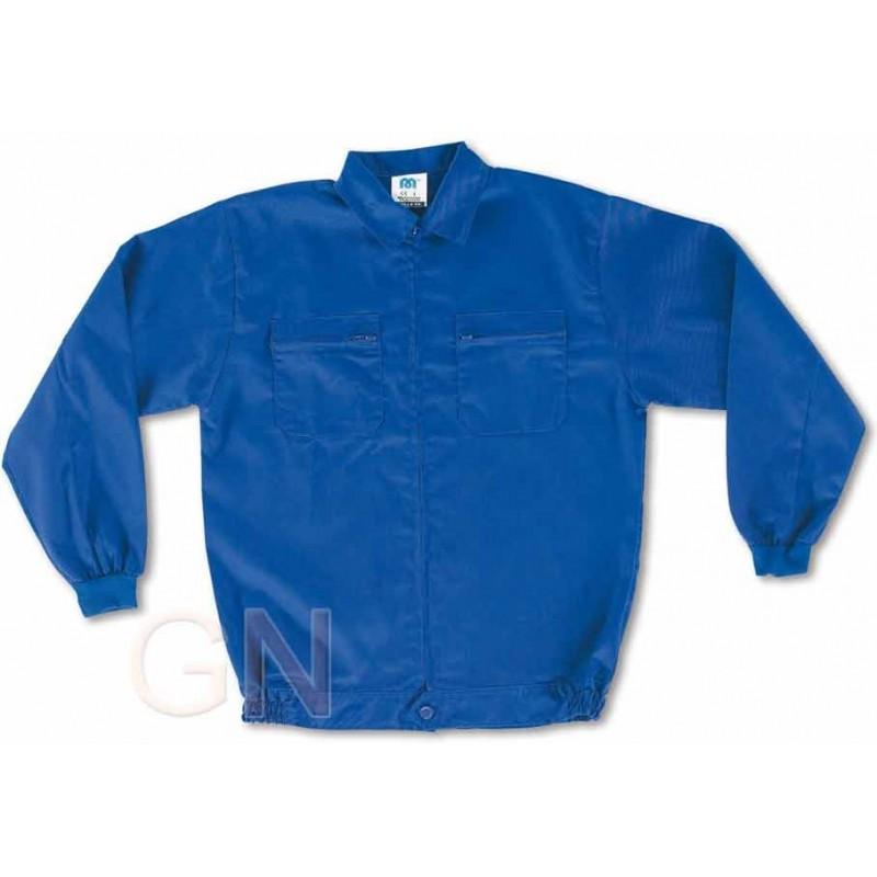 Cazadora económica azulina de algodón