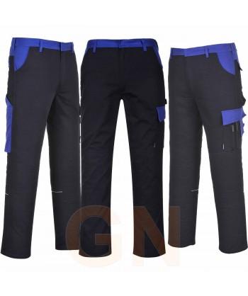 Pantalón multibolsillos con triples costuras grueso