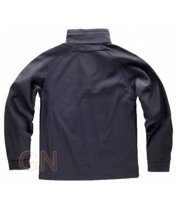 Cazadora softshell vestuario laboral negra