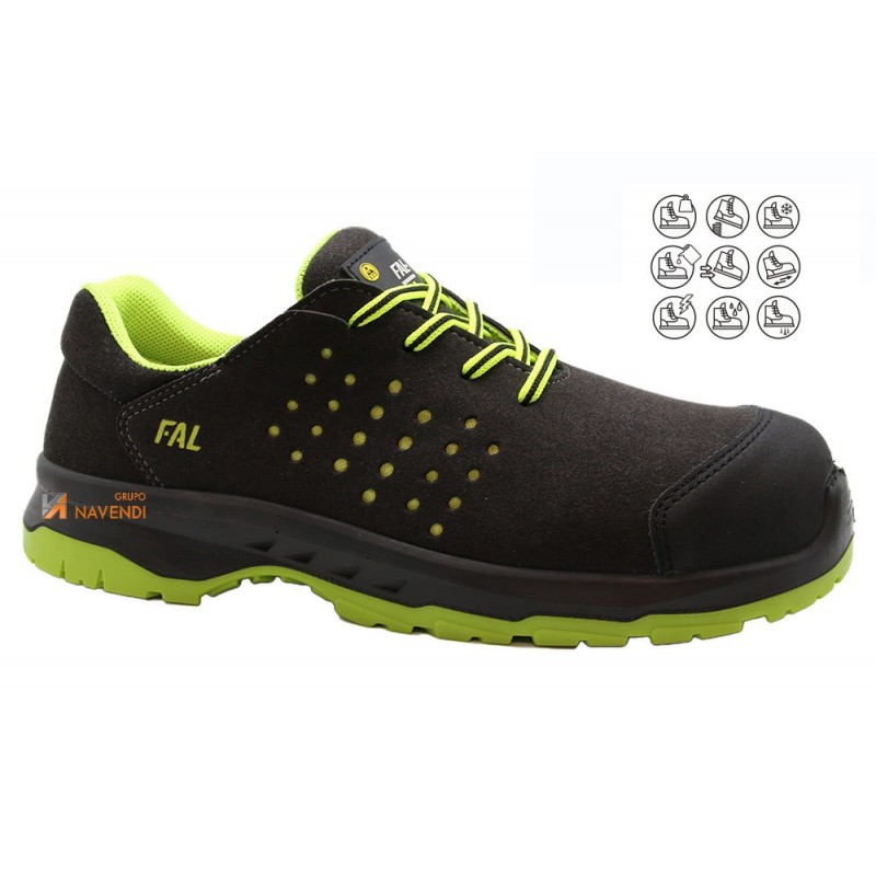 Zapato no metálico transpirable y antiestático S3 SRC CI E A ESD