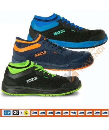 Zapato de seguridad no metálicos Legend de Sparco S1P SRC