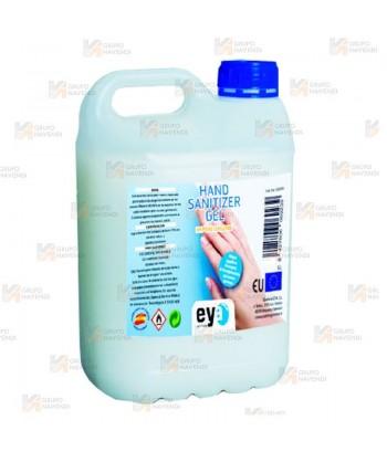 Bidón de gel hidroalcohólico en formato de 5 litros