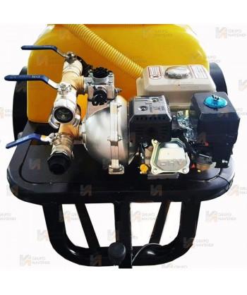 Remolque contra incendios con bomba autoaspirante centrífuga de 6 Bar y 420 lit/mi con motor OHV