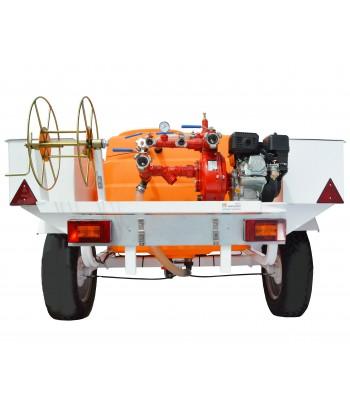 Remolque contra incendios con bomba de 10 Bar-750 lit/mi y motor BRÜDER