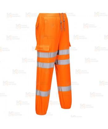 Pantalón deportivo naranja alta visibilidad Portwest RT48