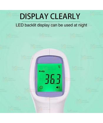 Termómetro digital de infrarrojo para medición de la temperatura sin contacto