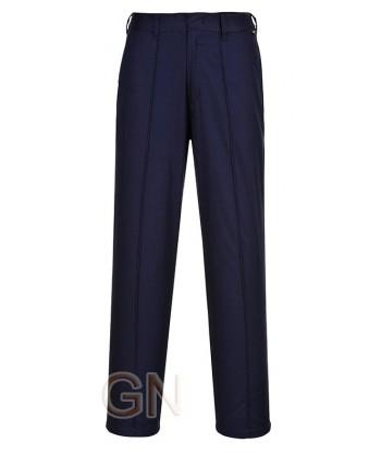 Pantalón elástico para mujer marino