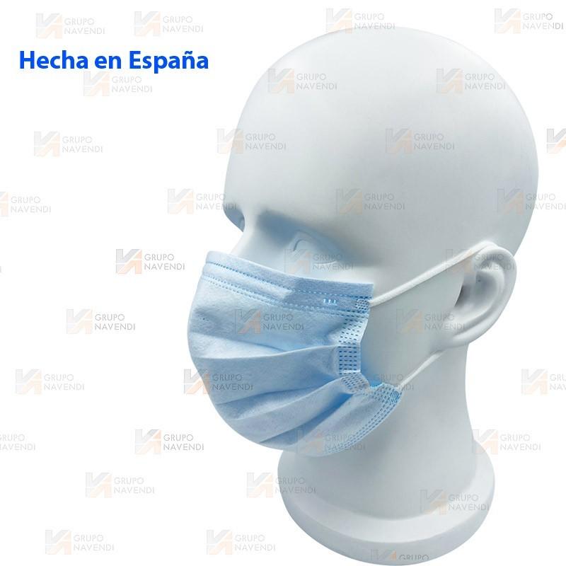 Mascarilla quirúrgica IIR Hecha y homologada en España