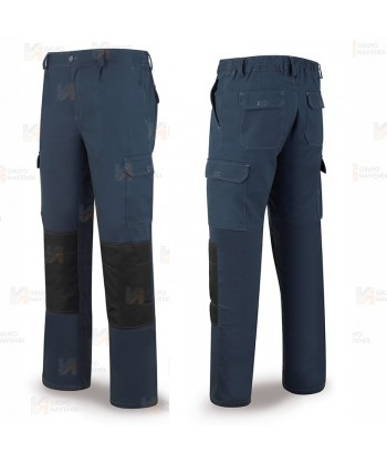 Pantalón bielástico multibolsillos con refuerzos
