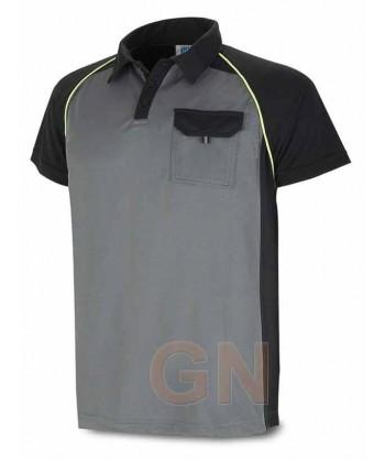 Polo combinado de manga corta y transpirable