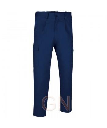 Pantalón forrado marino contra el frío