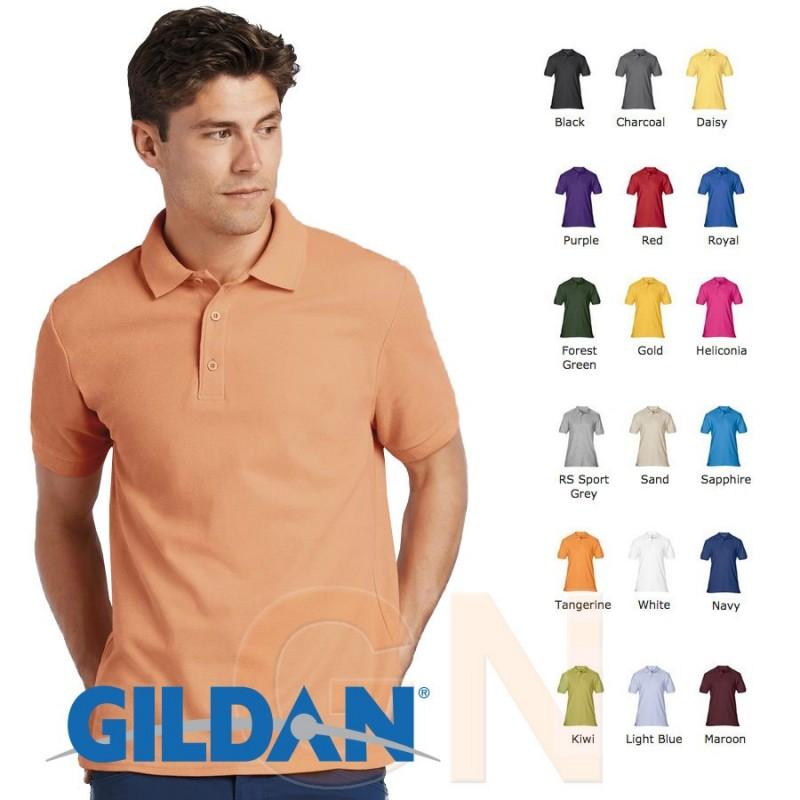 Polo manga corta Gildan de algodón