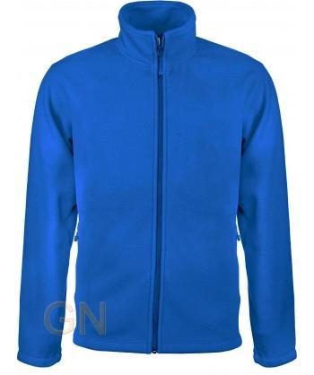 chaqueta polar gruesa color royal