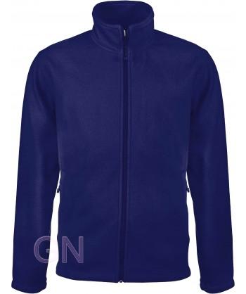 chaqueta polar gruesa color marino