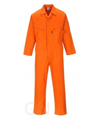 Buzo tergal tallas grandes naranja