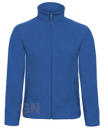 Chaqueta polar unisex, gruesa de B&C color royal