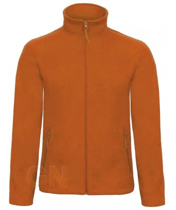 Chaqueta polar unisex, gruesa de B&C color naranja