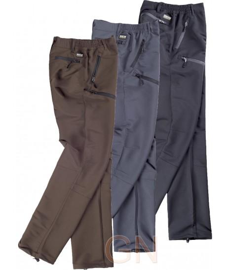 Pantalón sport multibolsillos bielástico y transpirable