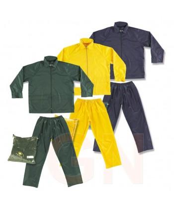 Conjunto chaqueta pantalón tipo ingeniero especial lluvia