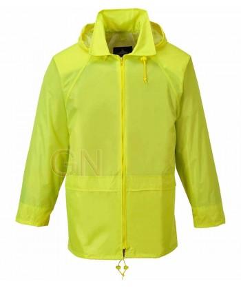 Chubasquero tipo ingeniero especial lluvia color amarillo